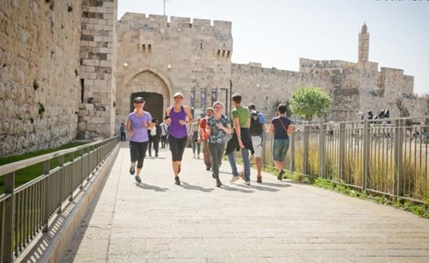 ריצה (צילום: יונית שילר RunJLM.com)