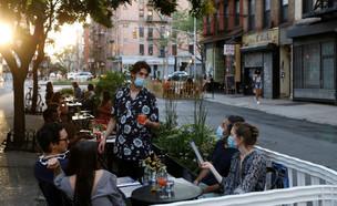 קורונה בארצות הברית ניו יורק (צילום: רויטרס)