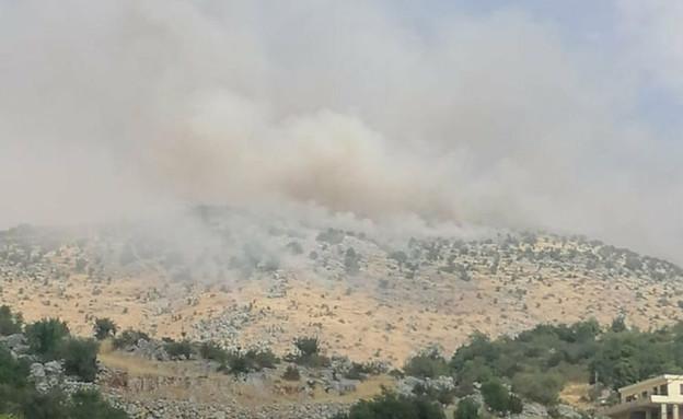 """מתיחות בצפון, הר דב, צה""""ל, לבנון"""