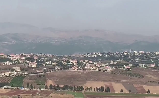 גבול לבנון, היום (צילום: חדשות)