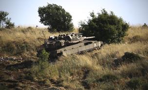 מתיחות בגבול הצפון, כוחות בגבול הצפון (צילום: דוד כהן, פלאש 90)