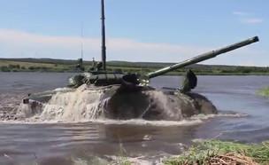 צפו (צילום: משרד ההגנה הרוסי, YouTube)