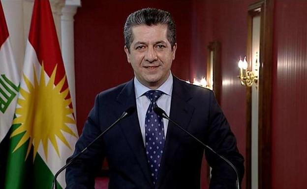 מסרור ברזאני,ראש ממשלת החבל הכורדי