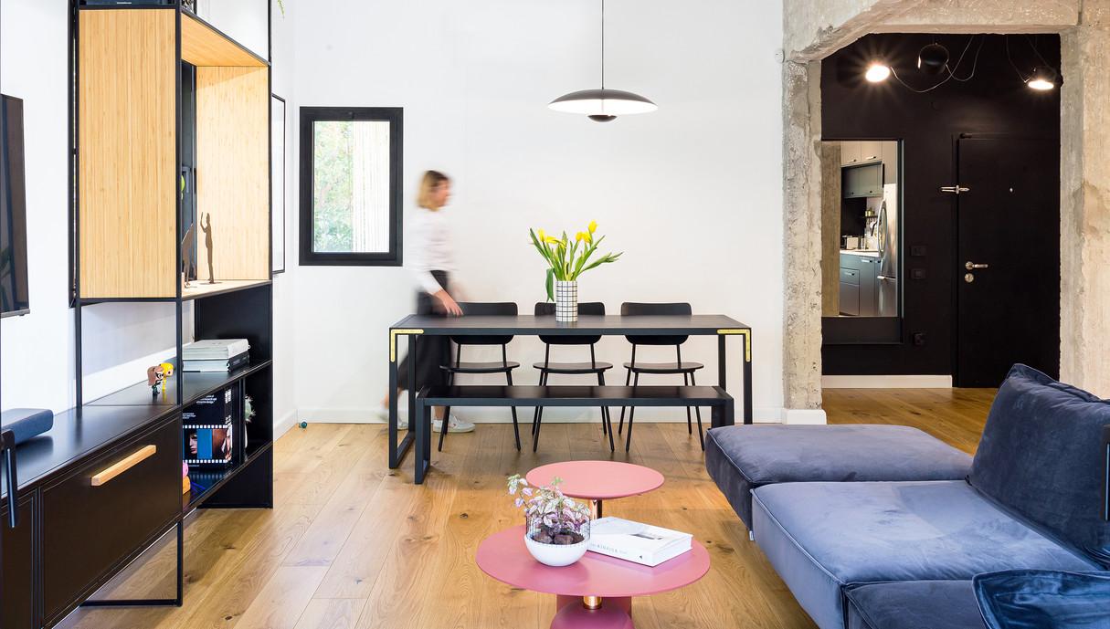 דירה בתל אביב, עיצוב אנה גולדברג