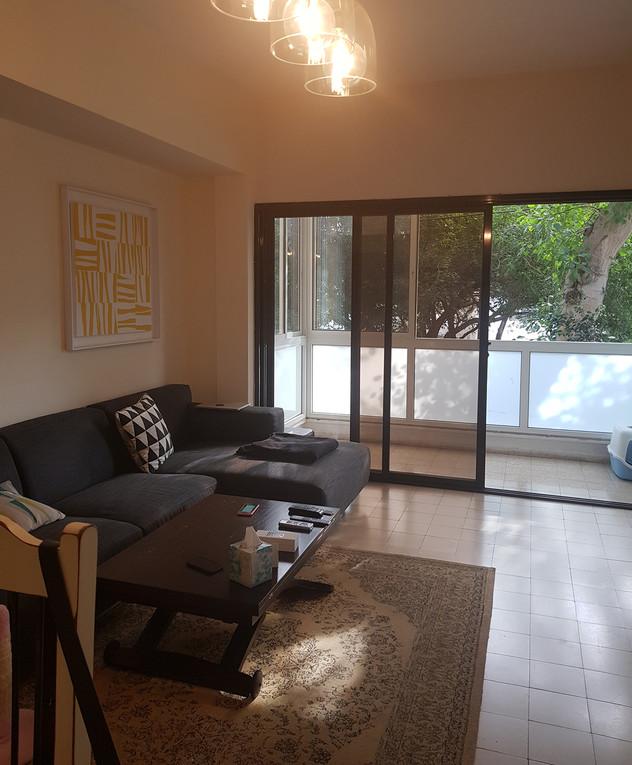 דירה בתל אביב, עיצוב אנה גולדברג, ג, לפני שיפוץ