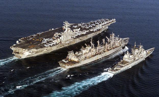 נושאת מטוסים (צילום:  Shannon E. Renfroe/AFP, GettyImages)