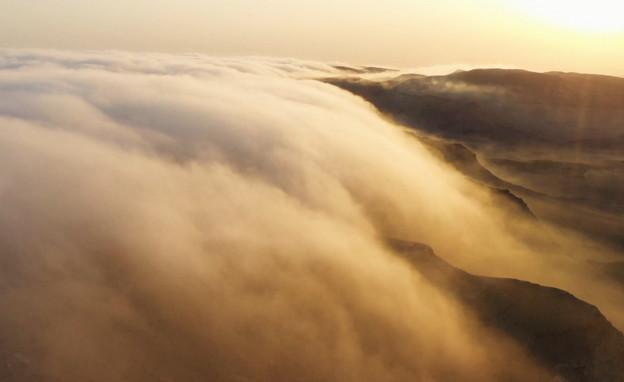 גלישת עננים (צילום: רום כרמי)