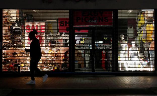 חנויות סגורות בניו יורק (צילום: רויטרס)