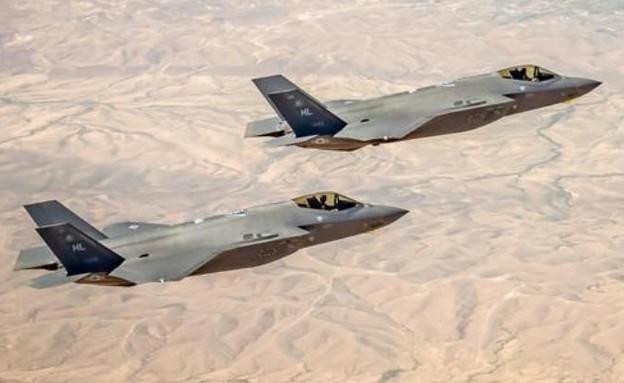 מטוסי F-35 חמקן (צילום: דובר צה