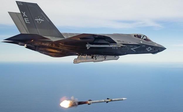 F-35C (צילום: USAF/CHRISTOPHER OKULA)