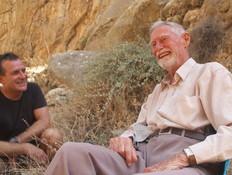 אנדריאה ענתי מטפס הערים הוותיק בישראל (צילום: החדשות 12)