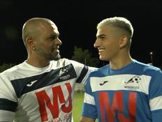 משחק הכדורגל של האמנים וכוכבי הרשת (צילום: ערב טוב עם גיא פינס, קשת 12)