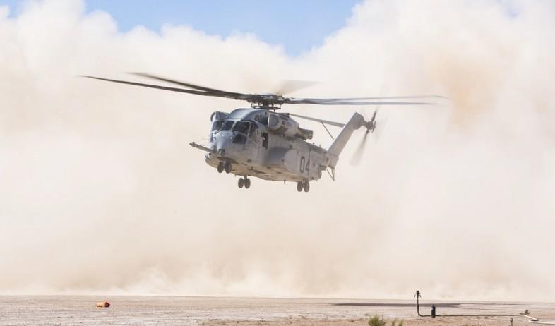 הניסוי (צילום: Lance Cpl. Jaime Reyes/3rd Marine Aircraft Wing)