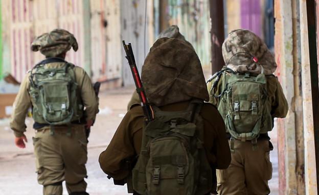 חיילים בסיכון (צילום: וויסאם השלמון, פלאש 90)