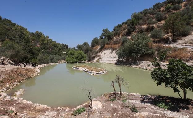עמק התכלת (צילום: סוכנת גי'ני)