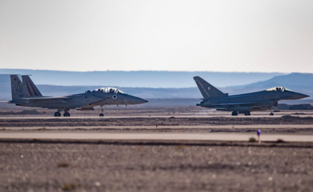מטוסי חיל האוויר שיתתפו במטס