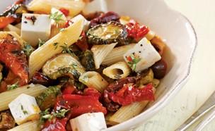 פסטה עגבניות מיובשות (צילום: דניה ויינר, לבשל עם יעל, הוצאת מודן)