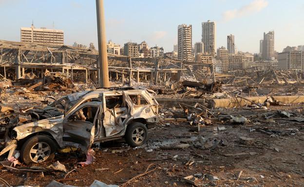 פיצוץ בביירות לבנון