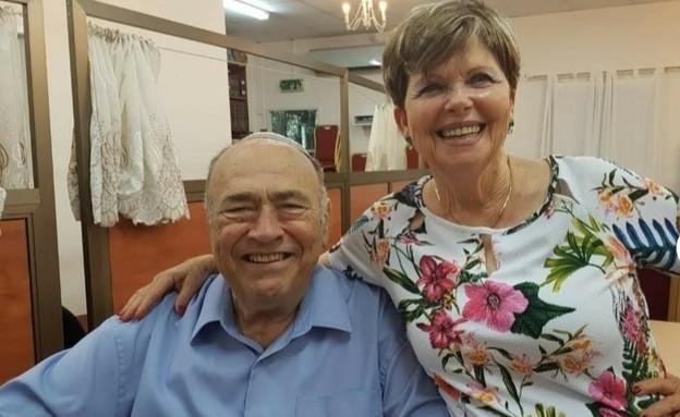 חנינא פרבר ואשתו רבקה