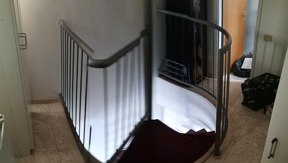 דופלקס בתל אביב, עיצוב מאיה רוזנברג, חדרון על הגג לפני שיפוץ