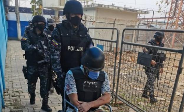 שי דהן נרצח בכלא באקוודור (צילום: twitter)