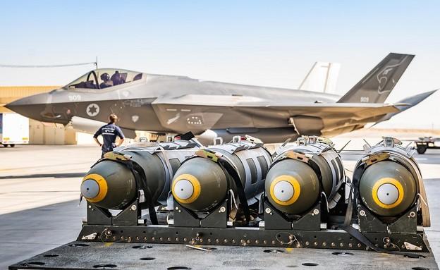 F-35 אדיר (צילום: עמית אגרונוב, חיל האוויר)