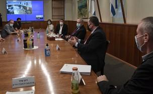 """פגישת הממשלה עם נציגי עולם התרבות (צילום: קובי גדעון , לע""""מ)"""