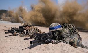 לוחמים (צילום: ED JONES/AFP, GettyImages)