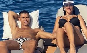 כריסטיאנו רונאלדו וג'ורג'ינה רודריגז (צילום: מתוך האינסטגרם של ג'ורג'ינה רודריגז, instagram)