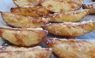 תפוחי אדמה צלויים עם פרמזן (צילום: צילום ביתי, אוכל טוב)