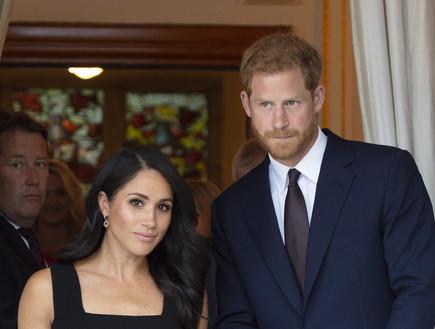 כך הגיבו במשפחת המלוכה ללידה השקטה של מייגן