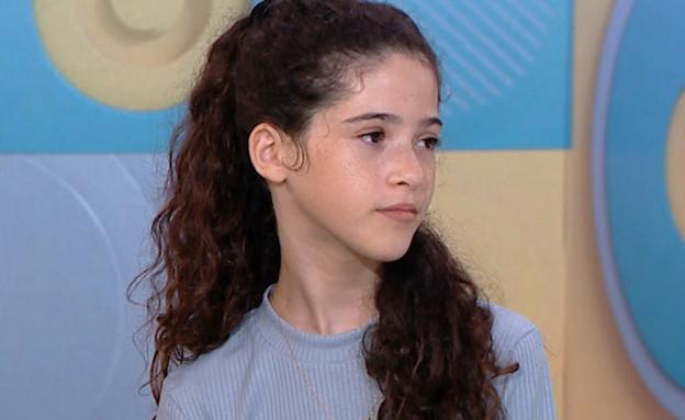 """כך השפיעה הקורונה על תמר בת ה-11 (צילום: מתוך """"פאולה וליאון"""", קשת 12)"""