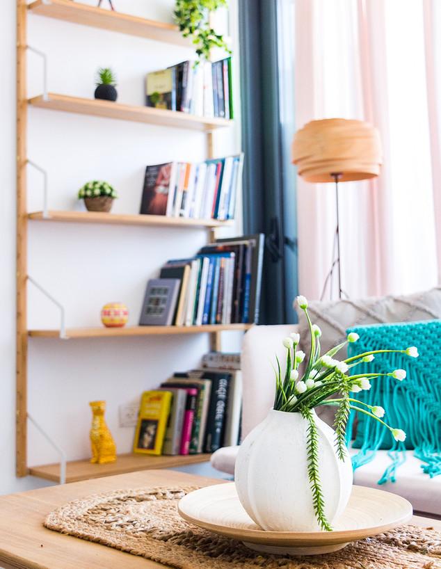 דירה בתל אביב, עיצוב פזית קורן, ג - 2 (צילום: רותם פריפר)