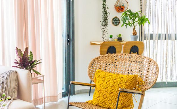 דירה בתל אביב, עיצוב פזית קורן, ג - 3 (צילום: רותם פריפר)