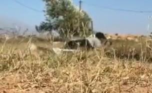 """כח צה""""ל פתח באש בסמוך לקבוצת מפריחי בלוני נפץ ותבע (צילום: קודקוד בטלגרם)"""