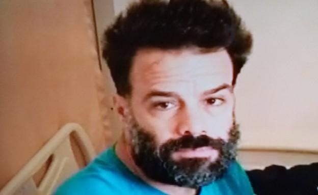 אורן שיינמן בבית החולים (צילום: מתוך הטלוויזיה באקוודור)