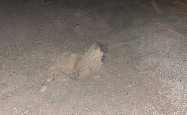 Le missile est tombé et n'a pas explosé au Conseil régional d'Eshkol