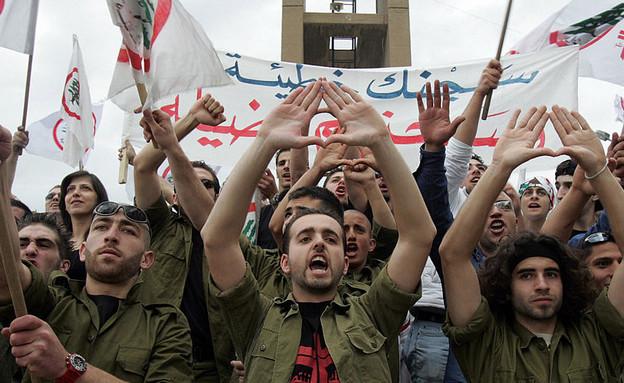 הנוצרים הלבנונים (צילום: JOSEPH BARRAK/AFP, GettyImages)