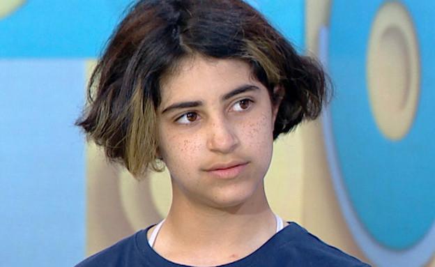 """איה בת ה-11 על המקרה בו הורדה מהאוטובוס (צילום: מתוך """"פאולה וליאון"""", קשת 12)"""