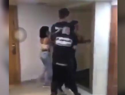 אילת: אורחים במלון ריססו מאבטחים בגז מדמיע