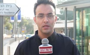 """עופר חדד על הראיון עם רעיית ראש הממשלה (צילום: מתוך """"חדשות הבוקר"""" , קשת 12)"""