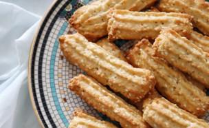 עוגיות מרוקאיות מזולפות (צילום: רון יוחננוב, אוכל טוב)