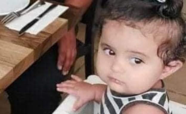 תינוקת בת שנה שנהרגת בתאונת דרכים סמוך לשעב