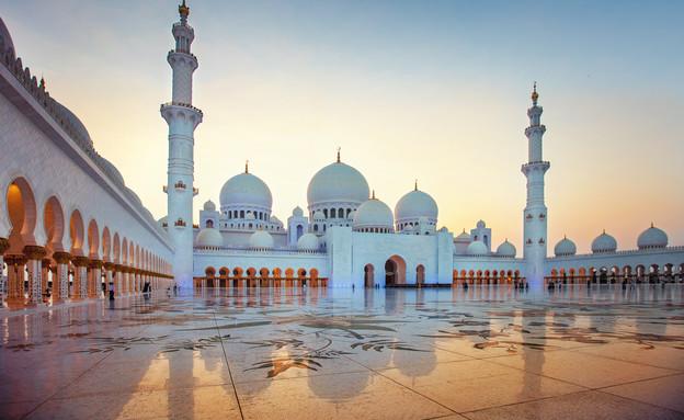 מסגד שייח' זאיד, אבו דאבי (צילום: Elena Przhevalskaia, shutterstock)