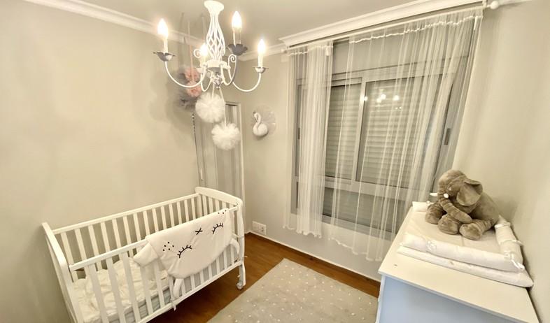 חדר ילדים, עיצוב מעין פרילוק (צילום: אור אורן)