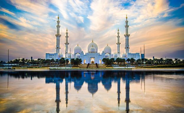 מסגד שייח' זאיד, אבו דאבי  (צילום: Nate Hovee, shutterstock)