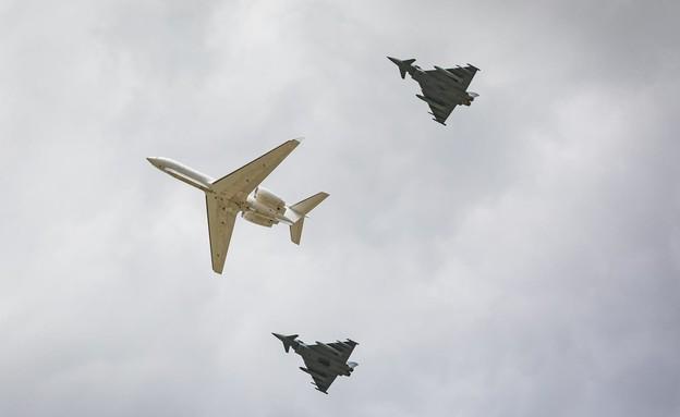 """משלחת חיל-האוויר הישראלי נחתה לתרגיל בגרמניה (צילום: דובר צה""""ל)"""