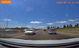 רכב נוסע נגד כיוון התנועה