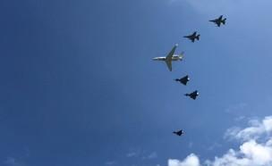 מטס חיל האוויר מעל דכאו