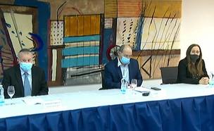 """שר המשפטים ניסנקורן מציג את הרפורמה במח""""ש  (צילום: לע""""מ)"""